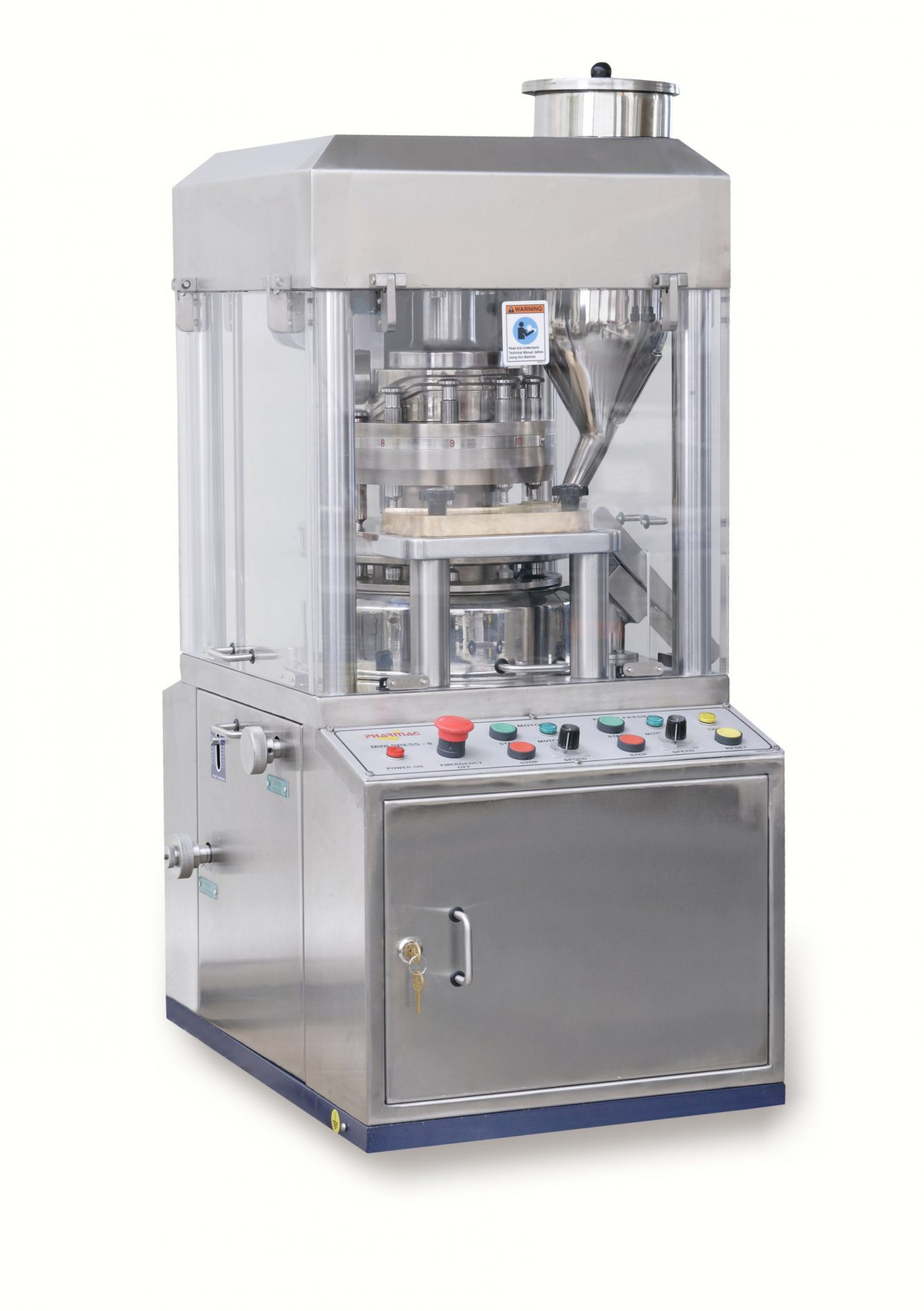MiniPressII Rotary Tablet Press - Pharma Test