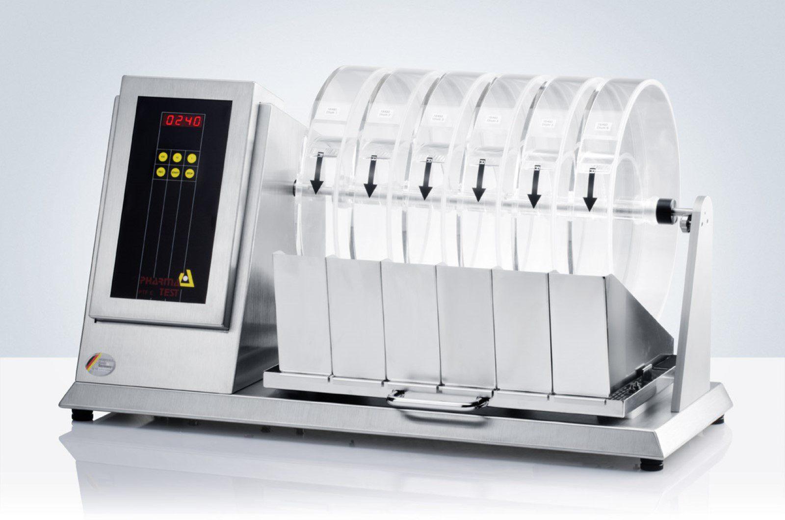 PTF 60ERA multiple drum Tablet Friability Test Instrument