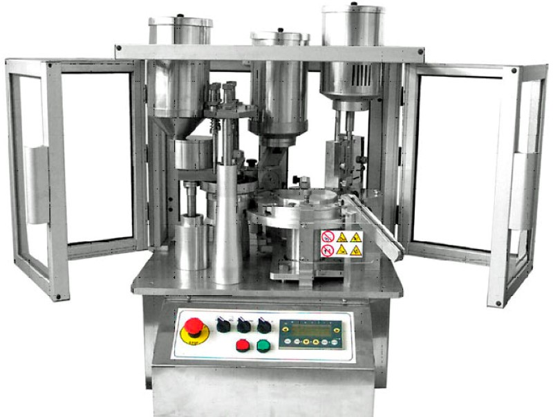 MiniCap Fully Automated Capsulation Machine - Pharma Test