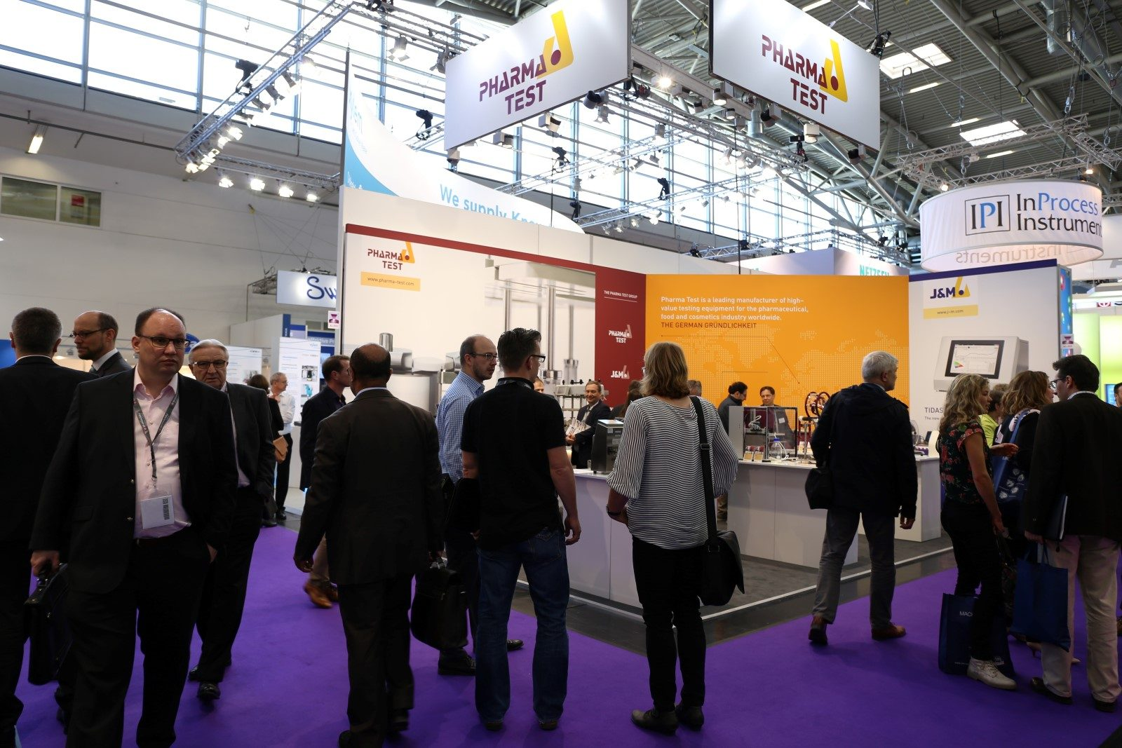 THE PHARMA TEST GROUP booth at analytica 2018