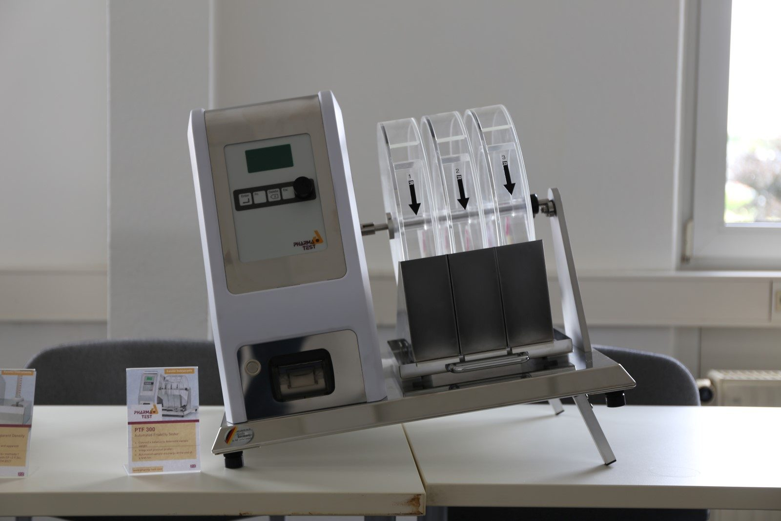 PTF 300 – automated friability tester