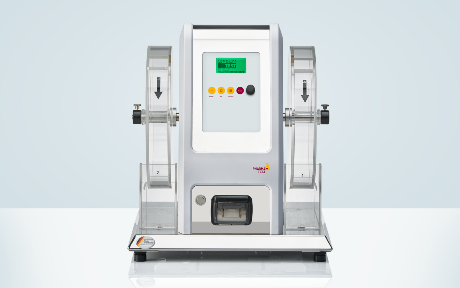 PTF 200 double drum tablet friability test instrument