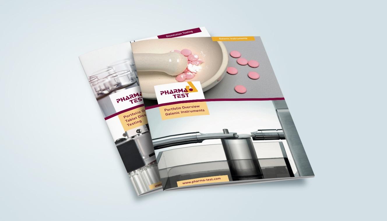 Pharma Test Portfolio Overview brochures