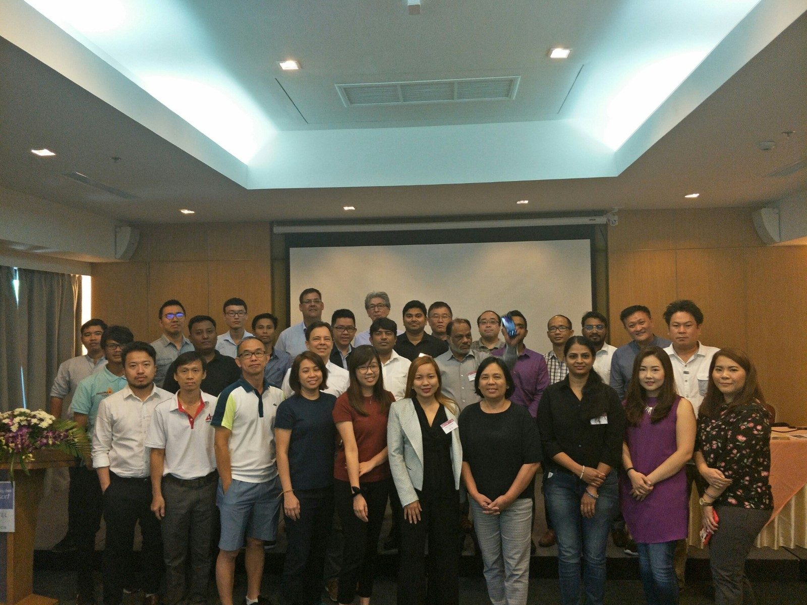 Group photo during the seminar
