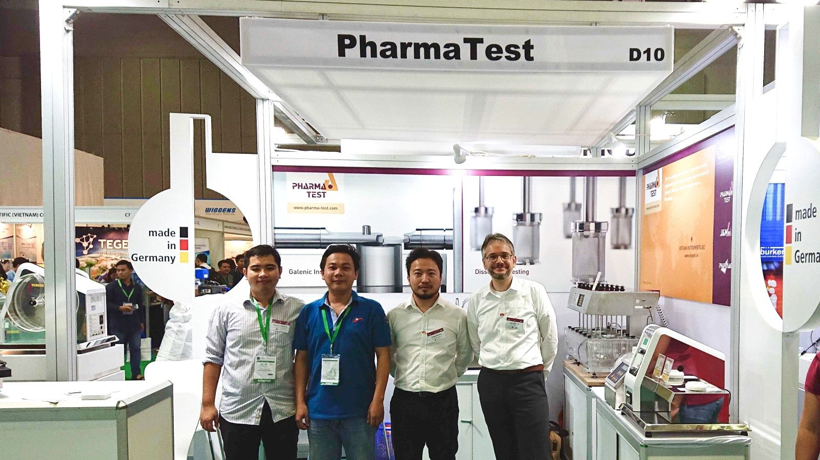 Impressions from analytica Vietnam 2019 - Pharma Test