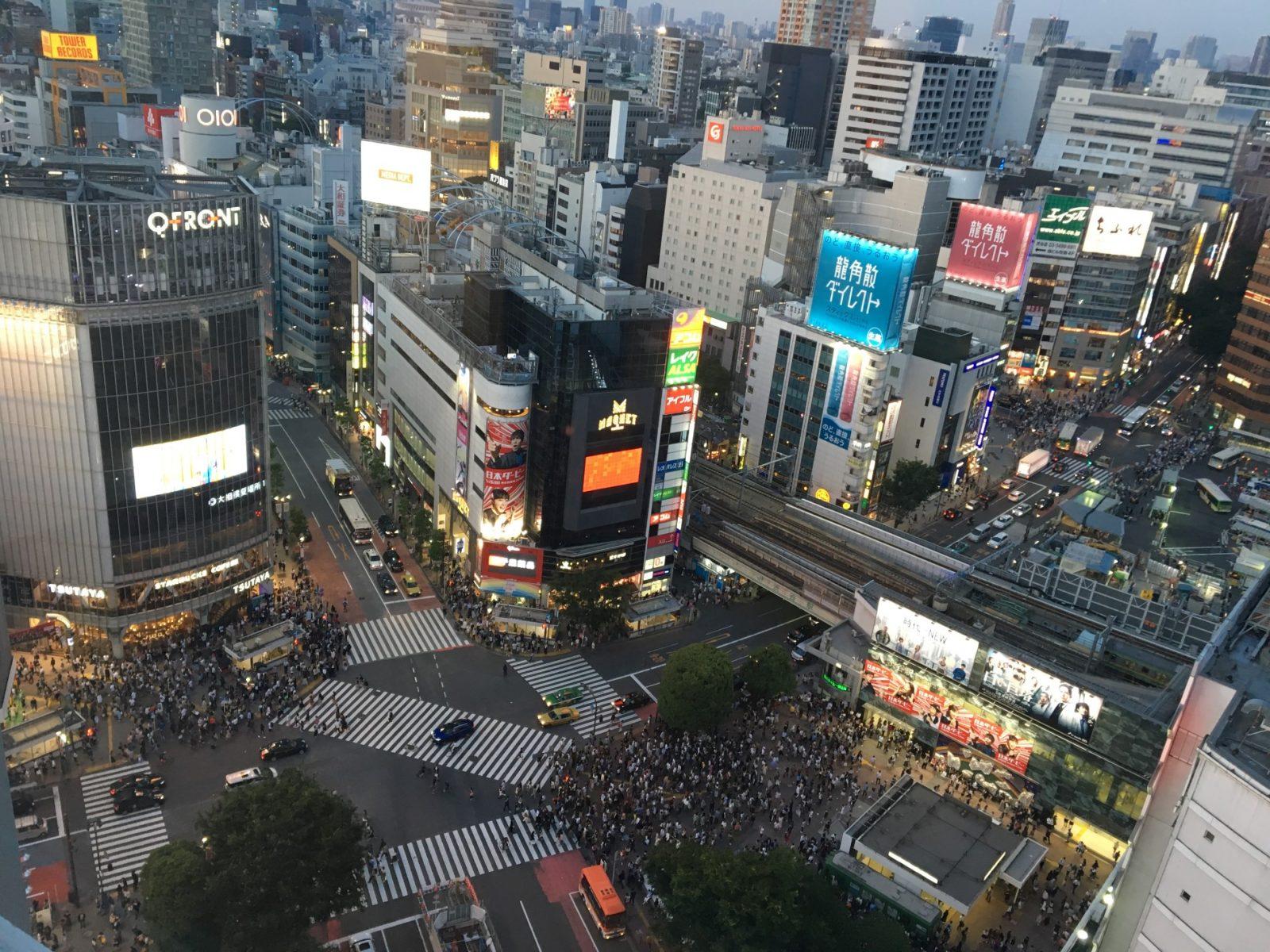Impression of Tokyo – Shibuya Crossing