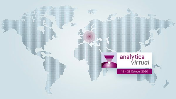 Join analytica virtual 2020 – the Free, Digital-Only Exhibition and Visit Us at the Virtual Pharma Test Booth Plus at our Lecture!