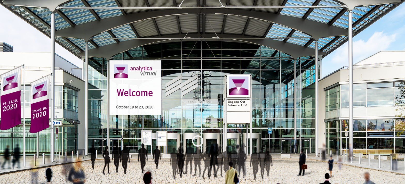 The virtual entry to the digital analytica 2020 event